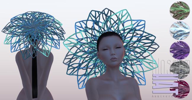 no.7 blossom hat
